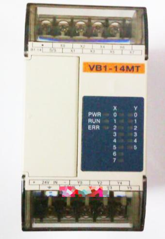 New Original VB1-14MT-D PLC 24VDC 8 point 24VDC transistor 6 point Main Unit new original cp1l l10dt d plc cpu 24vdc input 6 point transistor output 4 point