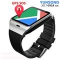 Tarjeta sim original smart watch teléfono aplus gv18 reloj bluetooth nfc llamada sms cámara fm radio reloj inteligente android smartwatch