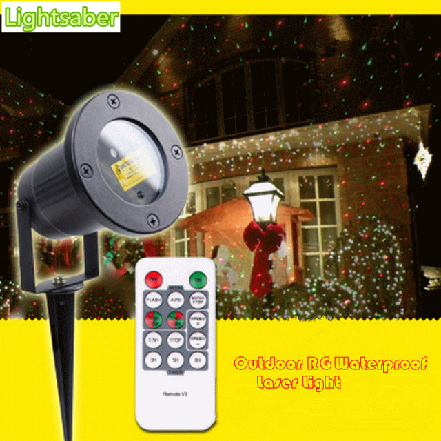 Christmas laser lights 110v-265v lawn lamp waterproof lights led landscaping lights dynamic Static landscape lighting lamps