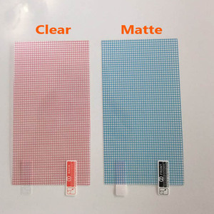 Image 3 - 3pcs/lot Clear or Matte Universal Screen Protectors 5/6/7/8/9/10/11/12 Inch Protective Films for Mobile Phone Tablet Car GPS LCD