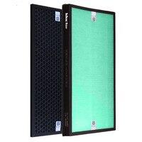 1 set (2pcs) air purifier Heap FilterActived Carbon Filter for Panasonic F-PDF35C F-PXF35C F-VXG35C F-PDJ-35C