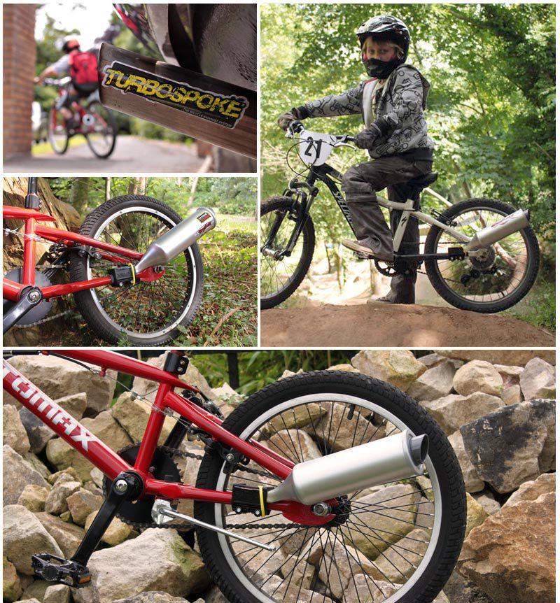 Купить с кэшбэком Q1103 New Cycling Bicycle Bike Turbine Motorcycle Exhaust Sound Six Kinds of Wild motorcycle Sound effects Cycling Tools