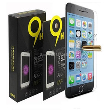 1000pcs/lot For iphone 4 5 6 7 8 plus X Tempered Glass film Screen Protectors Anti-Scratch shatterproof Protector with box