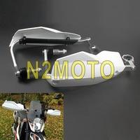 Supermoto MX Enduro White Handguards 22mm 28mm Brush Hand Guards Universal for Kawasaki KTM Duke TC TE FE FC TS FS 125 250 300