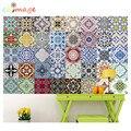 Mediterranean style Self Adhesive Tile Art Wall Decal Sticker DIY Kitchen Bathroom Home Decor Vinyl B
