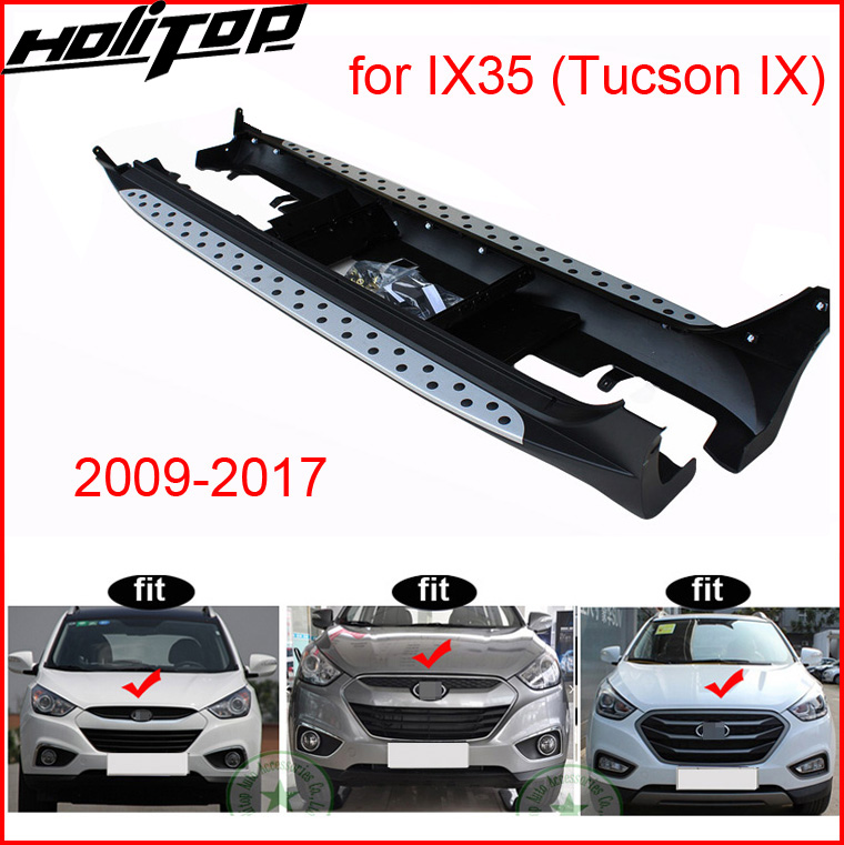 new arrival running boards side step nerf bar for Hyundai IX35(Tucson IX) 2009 2017 year,HITOP shop 5 years+ SUV expeneriences