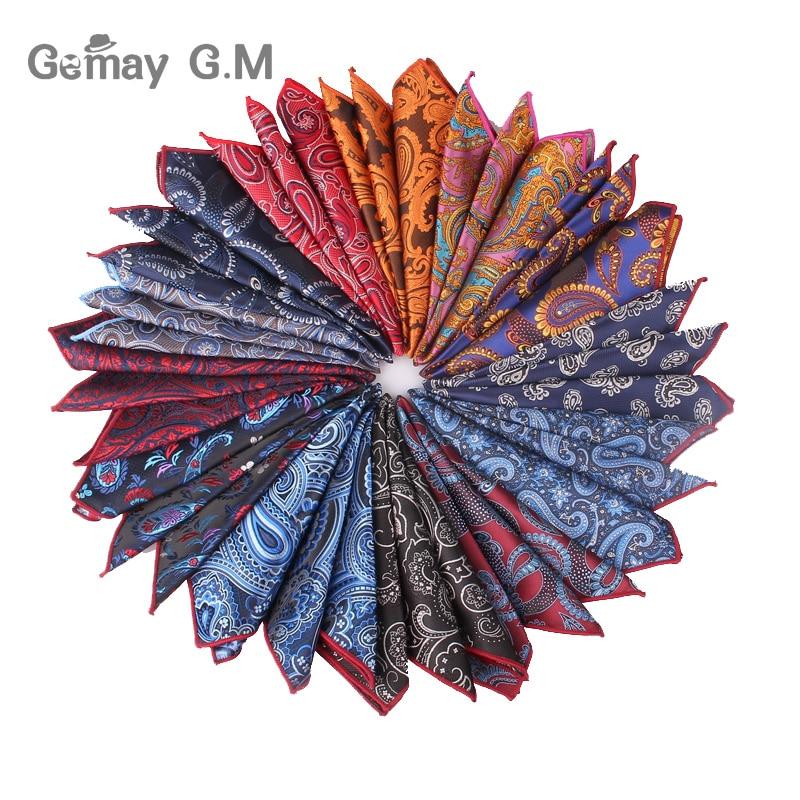 Men Pocket Square Suits Hanky For Men Floral Mens Handkerchiefs Casual Suit Square Handkerchief Towels For Party 25 Cm X 25 Cm