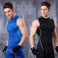 Mens Tank Tops Muscle Las Camisas de Compresión Medias Francés Terry Activo Camisas y Camisetas Muscle Fit Sin Mangas T shirt Camisetas Hombre