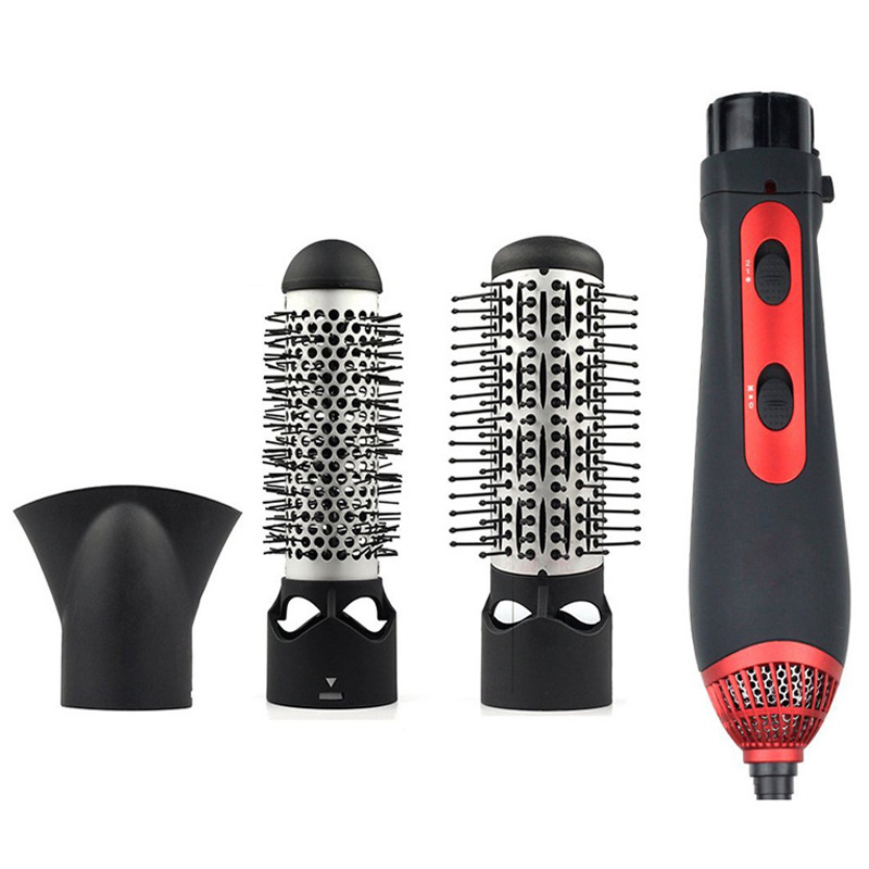 New Multi-function Combination Of Hot Air Comb Volume Dual Straightening Curling Hair Tool handbook of fixed income securities volume ii