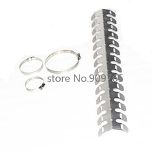 Silver Exhaust Muffler Pipe Heat Shield Cover Heel Guard Cruiser Chopper Bobber Cafe Racer Old School Motorcycle