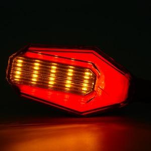 Image 5 - Evrensel motosiklet modifiye dönüş sinyalleri ışık Süper parlak su geçirmez led Direksiyon lambası