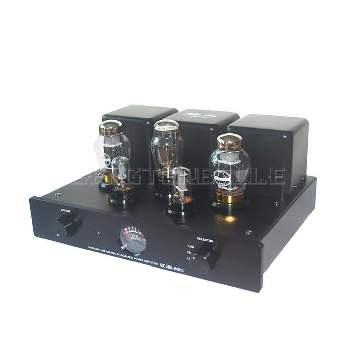 Vacuum Tube Integrated Power Amplifier MC368-B902 Single-ended Class A KT90 Tube HIFI Audio With Remote Control vacuum tube integrated power amplifier mc368 b902 single ended class a kt90 tube hifi audio with remote control
