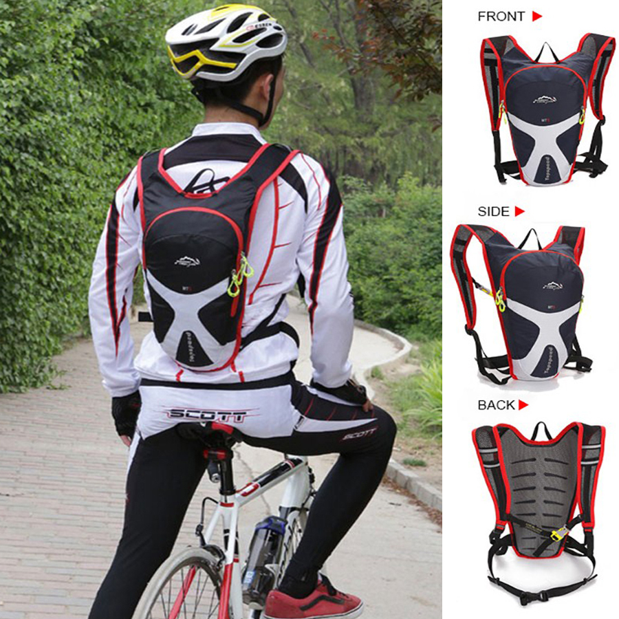 LOCAL LION Men Women Bicycle Backpack Ultralight 5L MTB Bike Water Bag Cycling Hiking Camping Hydration Backpack Casco Ciclismo