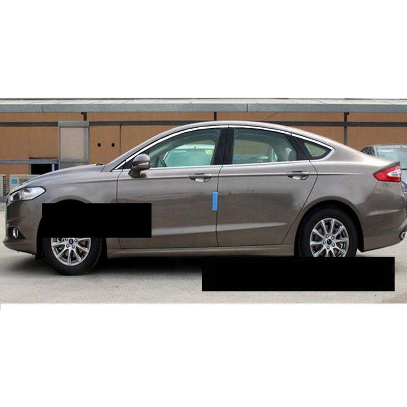 lsrtw2017 304 stainless steel car window trims for ford mondeo 2014 2015 2016 2017 2018 4th generation ford fusion stainless steel upper window frame sill trim 8pcs for fusion mondeo 2013 2014