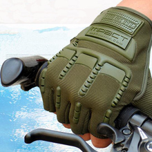 Hot Sale Fingerless Gloves Men Unisex For Tactical Army Combat Bicycle Knuckle Half Finger Gloves Men Accessory