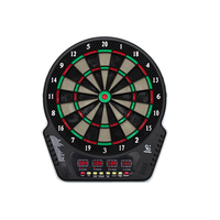4 LED Display Electronic Dartboard Display 21 Games Voice+ Soft Tip Darts Indoor Sport Scoring Board Dartboard Set