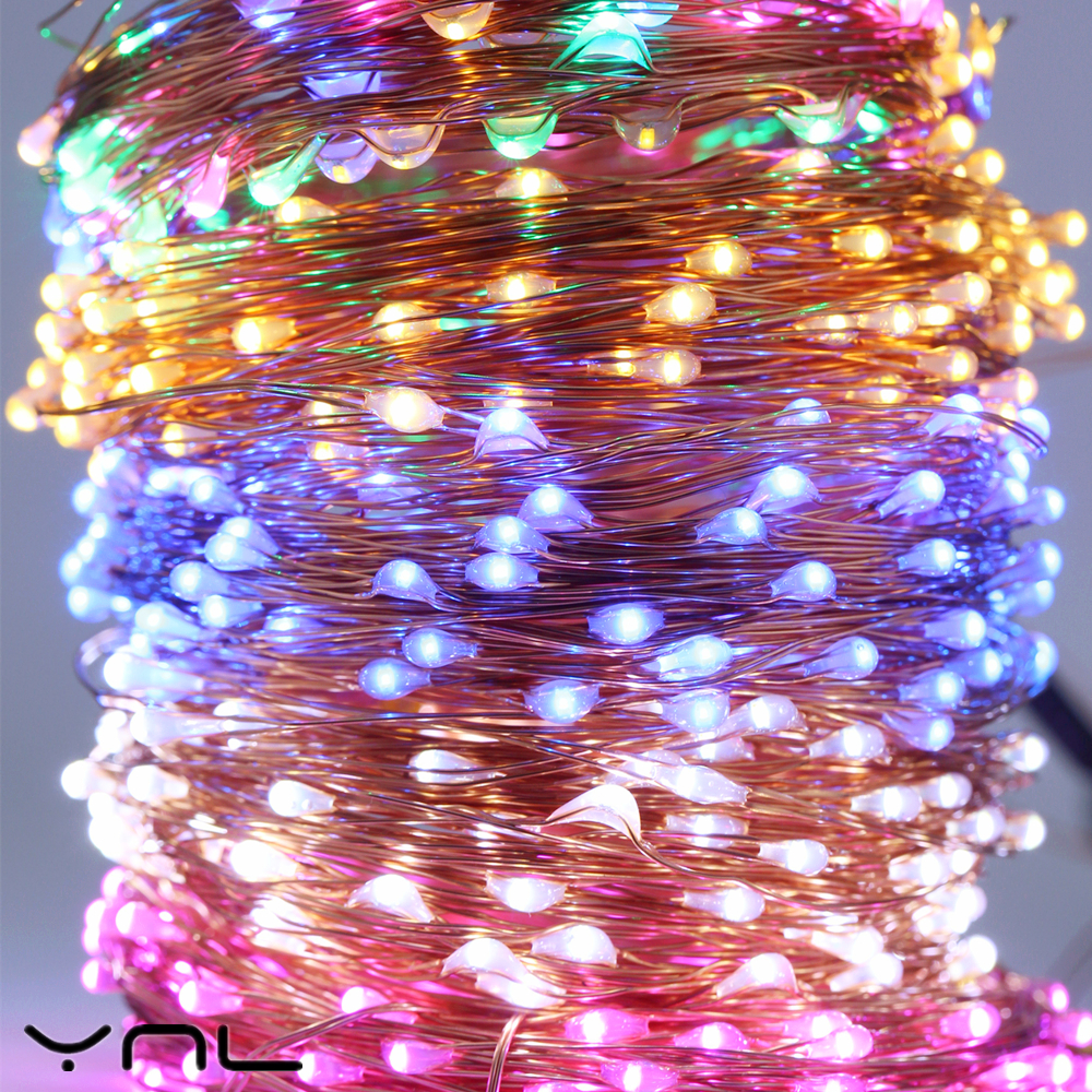Tiras de Led fio de cobre led string Color : Rgb / White / Blue / Pink / Warm White