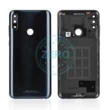 الأصلي ل آسوس Zenfone ماكس برو M2 ZB631KL عودة الإسكان غطاء باب البطارية PC البلاستيك + الجانب مفتاح eplacement إصلاح قطع الغيار
