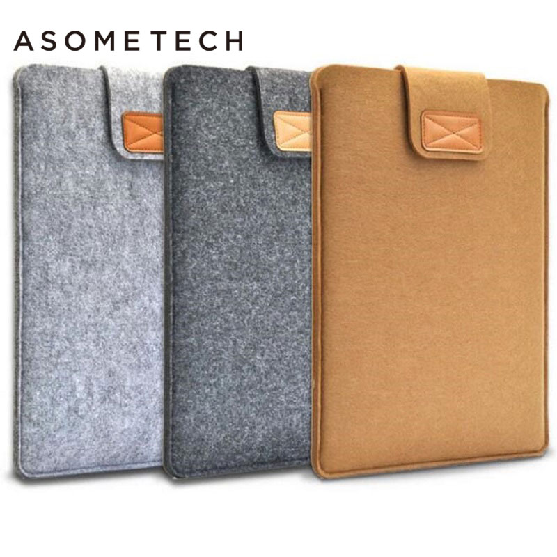 7.9-13'' Sleeve Bag Case Universal Wool Felt Fabric Tablet Cover for ipad 2018 air 1 mini huawei Samsung 10.1 MIpad 4 Pouch Capa 2016 high quality 7 inches universal tabet pc pda sleeve pouch pu leather bag case cover for ipad mini for samsung tablet 7 inch