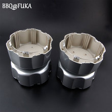 BBQ@FUKA 4Pcs ABS Chrome-Plated Wheel Hub Center Caps Fit For 1996-1999 Pathfinder Xterra Frontier 40315-89P15 Car-Styling