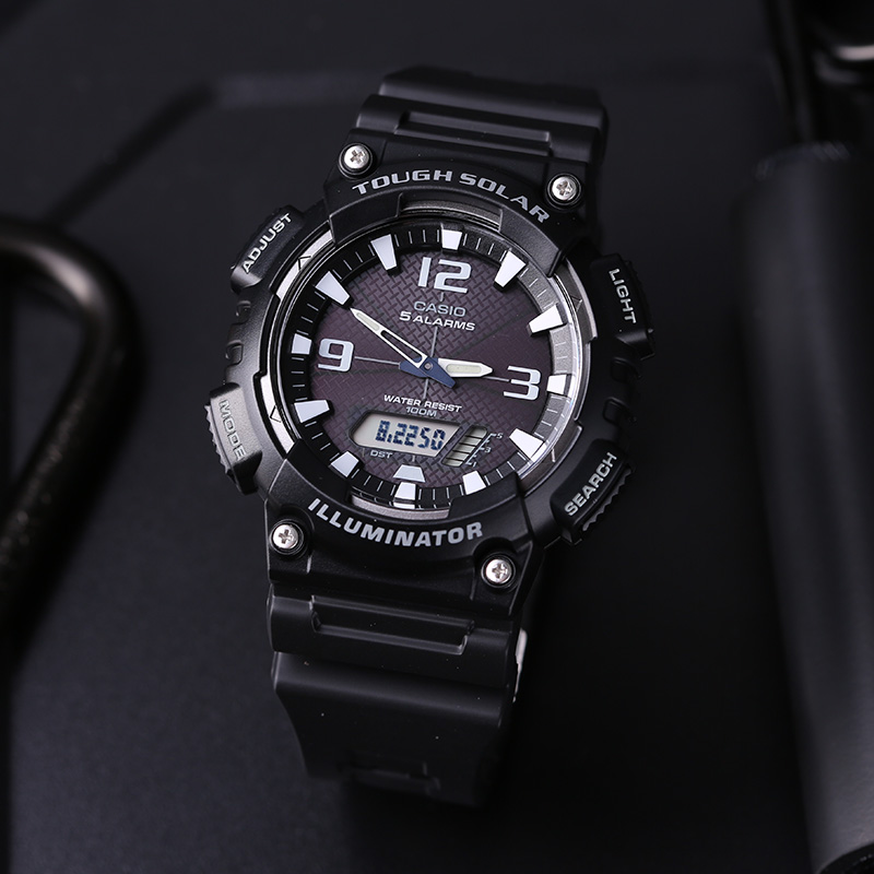 Casio Casual electronic watch AQ-S810W-1A купить дешево онлайн