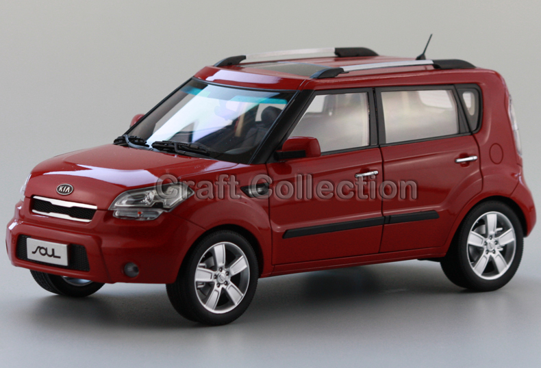 * Red 1:18 KIA Soul Alloy Model Diecast Cars Toy Car Gifts Craft