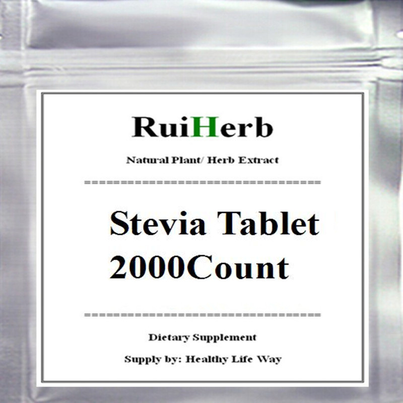 Nature Stevia Tablet (2000counts in packet) stevia extract ra98 zero calories sweetener