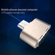 Весело мини Micro USB OTG Кабель-Адаптер 2.0 Конвертер Для Мобильных телефон Android Samsung Tablet Pc USB для Флэш-Накопитель Мышь OTG концентратор(China (Mainland))