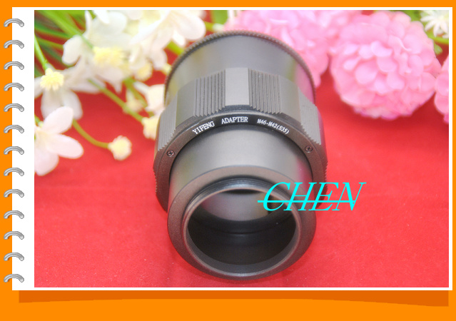 M46 Lens to M42 Camera Adjustable Focusing Helicoid Ring Adapter 36-90mm Macro Extension Tube M46-M42 m46 110r
