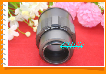 M46 Lens to M42 Camera Adjustable Focusing Helicoid Ring Adapter 36-90mm Macro Extension Tube M46-M42
