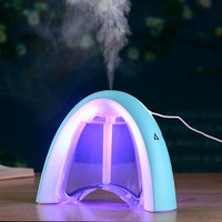 New LED Ultrasonic Home Aroma Humidifier Air Diffuser Purifier Lonizer Atomizer DC 5V 400ML Essential Oil