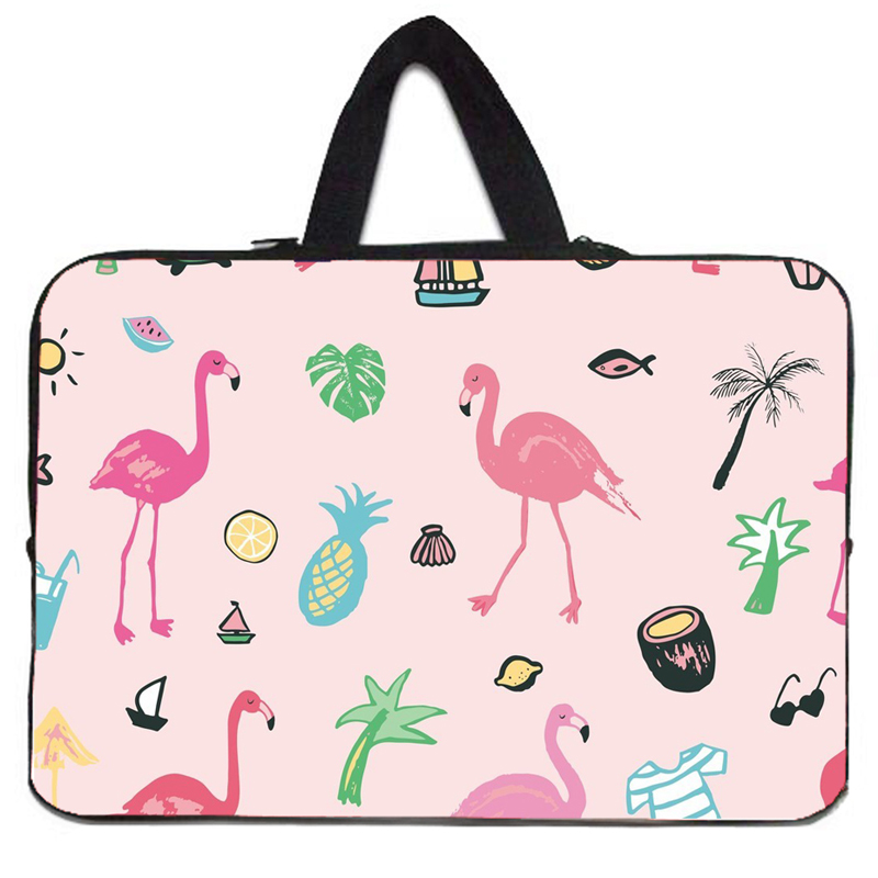 3 Design New Women Mens Portable Laptop Bag Neoprene Soft Zippers Cover Cases Fit 10 12 13 14 15 17 7 7.9 Notebook Tablet PC