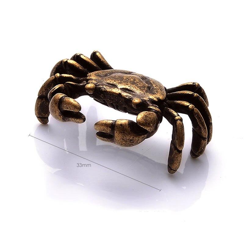 30pcs Mini Antique Crab Tea Pet Teaware Ornament Miniature Figurine Home Decoration Kombucha Tea Accessories ZA6641