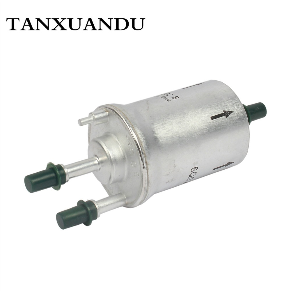 3 0bar gasoline gas fuel filter petrol w pressure regulator for vw polo 9n 02 10 audi a2 00 05 fabia ibiza cordoba 6q0201051b [ 1000 x 1000 Pixel ]