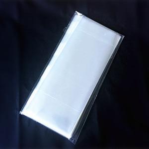 Image 2 - Bolsa plana transparente para hornear, empaque de helado, bolsa para comida/pastel/Pan, 8*19cm, 200 unids/bolsa