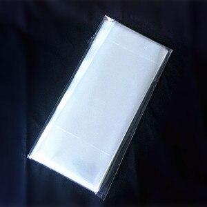 Image 2 - 새로운 스타일 베이킹 패키지 가방 투명 플랫 polybag 아이스크림 포장 가방 음식/케이크/빵 주머니 8*19 cm 200 개/가방