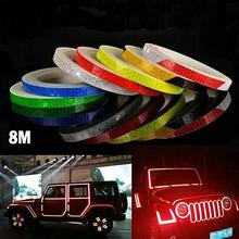 Reflective Stickers TapeFluorescent MTB Bicycle Cycling Waterproof Adhesive Tape motorcycle Bike Sticker Bicycle Accessories