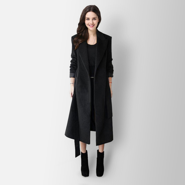 2017 Hot quality winter fashion women jacket Slim warm coat solid color Overcoat free shipping