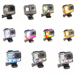 Image 2 - New Product For Gopro Hero 5 Hero 6 Hero 7 stickers For Go Pro 5/6 Sport Camera Hero5 Hero6/7 Protector Case Skin