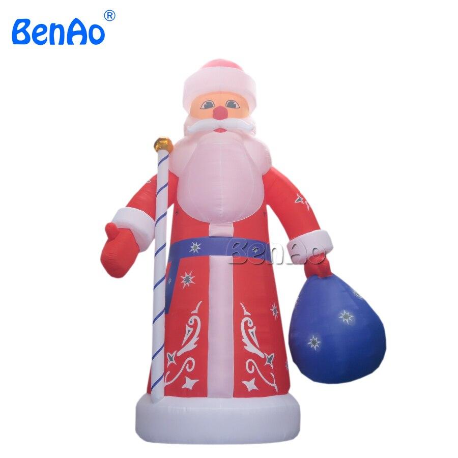 X023 8m Crăciun înalt de gonflabile Mos Craciun decor de decorare - Sport și în aer liber