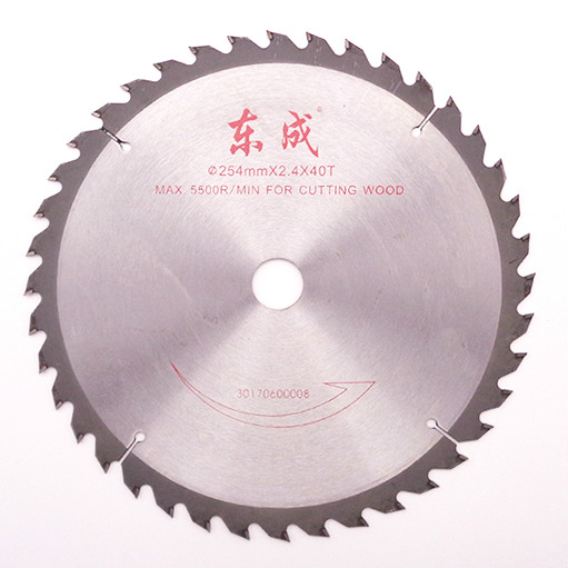 Wood Saw Blade For 254*2.4*25.4mm Woodworking Blades 40/60/80teeth Circular 10