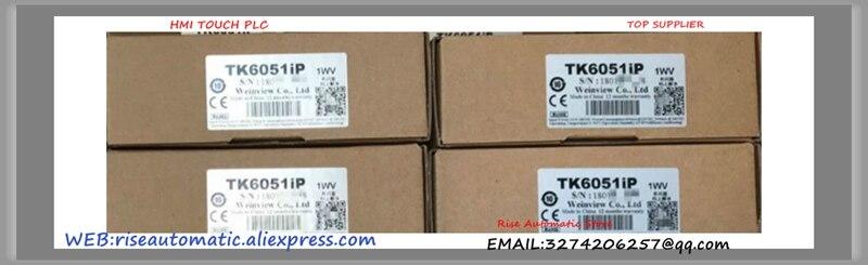 4.3 Polegada Novo 1wv TK6051iP Touch Screen Weinview HMI Novo Atualizado De TK6050iP