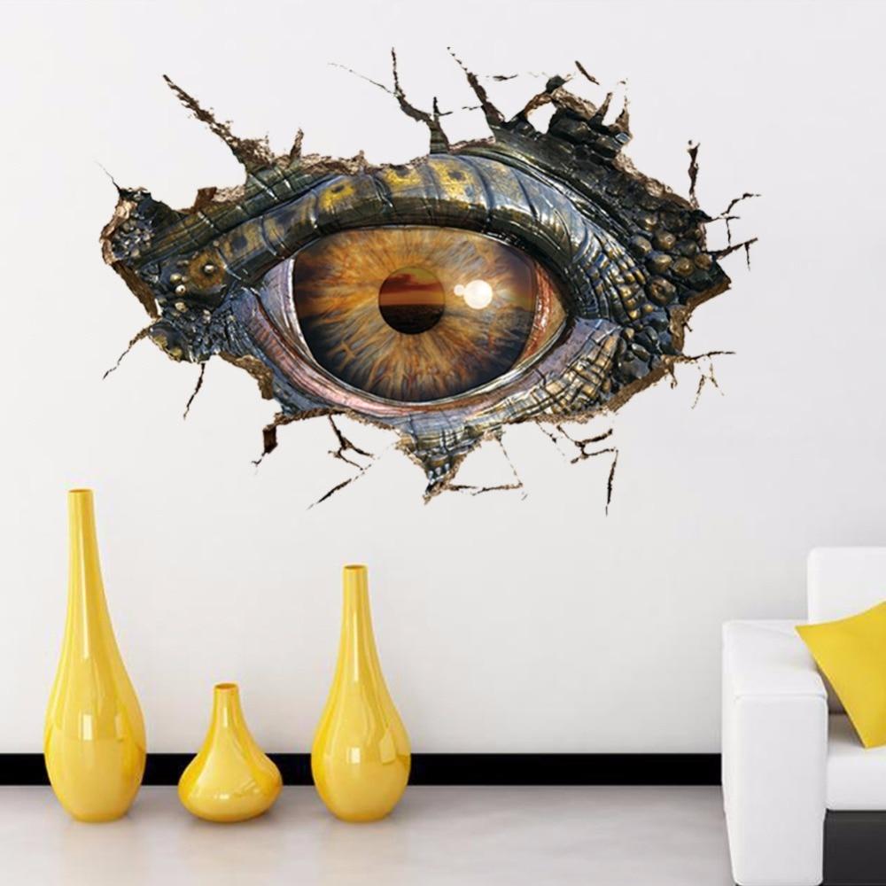 Aliexpresscom Buy Hot Sale Creative 3D Dinosaur Eye Wall