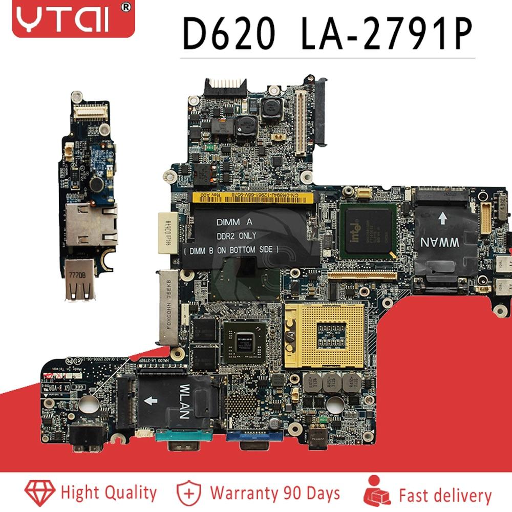 LA 2791P For Dell Latitude D620 Laptop Motherboard 945GM DDR2 CN 0XD299 0XD299 HAL00 LA 2791P