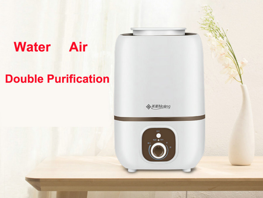 High Quality 3l Quiet Bedroom Humidifier 220v Low Noise Mini Home Use Air Conditioning