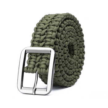 Paracord 550 Survival Belt Rope Hand Made Tactical Military Bracelet Outdoor Accessories Camping Hiking Equipment