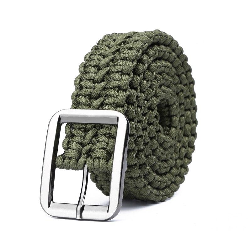 Paracord 550 הישרדות חגורת חבל יד טקטי צבאי צמיד חיצוני אביזרי קמפינג טיולי ציוד