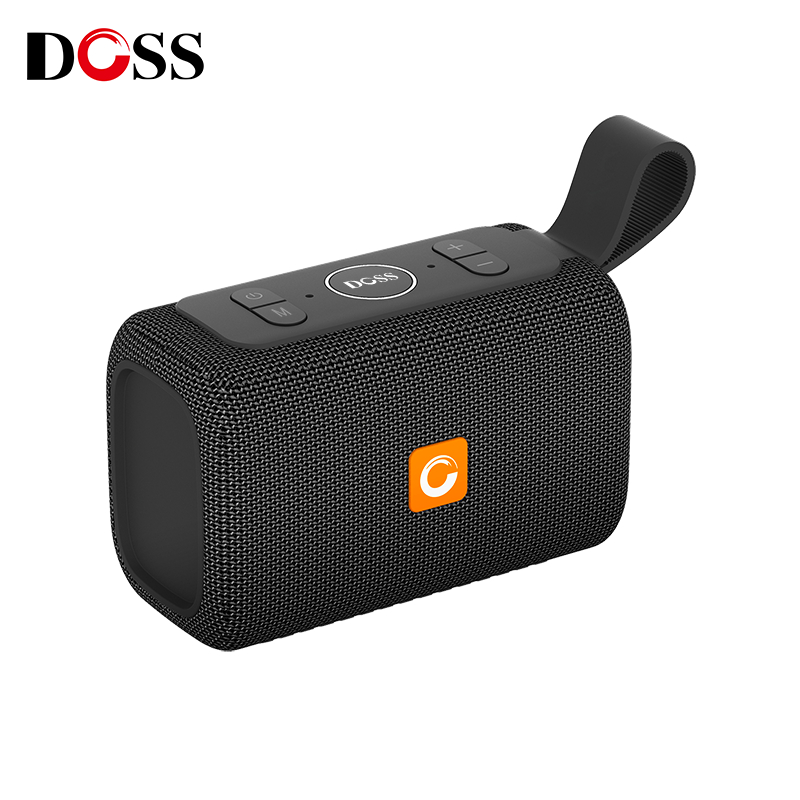 DOSS E-go Outdoor Waterproof IPX6 Speaker Mini Bluetooth Portable Wireless Speakers Built-in Mic Support TF AUX USB for iPhone s13 portable 3w bluetooth v2 0 v2 1 speaker w mic mini usb tf golden black