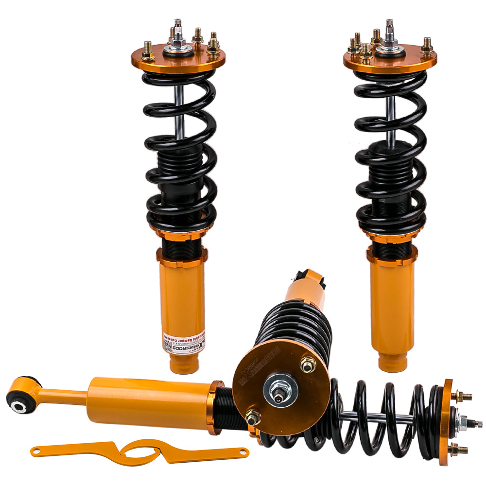 Damper Coilover Kits For Honda 98-02 Accord 99-03 <font><b>Acura</b></font> <font><b>TL</b></font> 01-03 CL Shock Absorber Suspension Coil Front Rear Dampers Camber