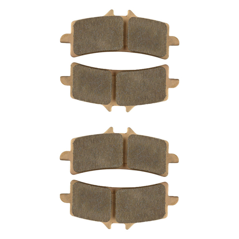 Motorcycle Parts Front Brake Pads Kit For SUZUKI GSX1300 2013-2015 RGSXR 600 GSXR 750 L1 2011 Copper Based Sintered motorcycle brake pads front disks for suzuki gsx 750 fw fx fy fk1 fk6 katana 1998 2206 motorbike parts fa231